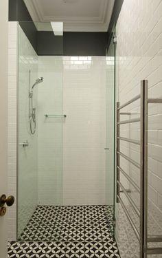 Brooke Aitken Design jatana  Sort of the look, less tiles, panting pale grey