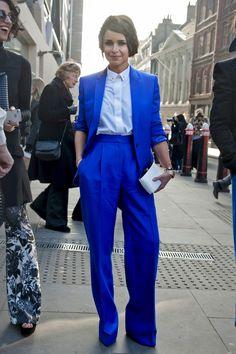 Miroslava Duma - London Fashion Week fall13 fot. Imax