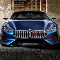 Prazer BMW Série 8 Concept. #CarroEsporteClube #BMW