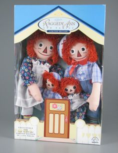 Raggedy Ann and Andy Dolls | Edition Raggedy Ann and Family doll set