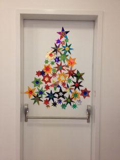 Ma porte de classe en attendant les jo d co de porte - Decoration de noel pour porte ...