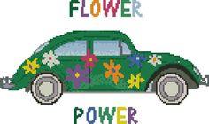 hippie cross stitch - Google Search