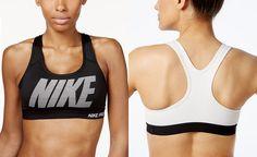 3451d7df38fb1 Nike Pro Classic Mid-Impact Padded Dri-FIT Sports Bra - Tops - Women -  Macy s