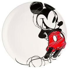 Zak Designs Disney Mickey Mouse - Kids Dinnerware Set, Including Melamine Plate and Bowl Set, Durable and Break Resistant Plate and Bowl Makes Mealtime Fun (Melamine, BPA-Free) Walt Disney, Disney Home, Mickey Mouse Kitchen, Disney Kitchen, Mickey Mouse And Friends, Mickey Minnie Mouse, Disney Furniture, Mickey Love, Plates