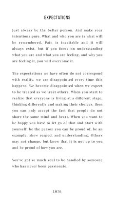 Expectations strongquotes inspirationalquotes strengthquotes motivationquotes positivequotes independentquotes affirmingquotes lifequotes risingquotes is part of Words quotes - Motivacional Quotes, Words Quotes, Wise Words, Best Quotes, Sayings, Qoutes, Pretty Words, Beautiful Words, Cool Words