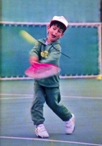 Djokovic as a Kid