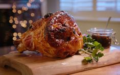 MacNean Christmas Ham with Sticky Apricot and Ginger Glaze
