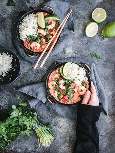 Curry de pois verts