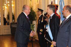 SM el Rey Don Juan Carlos asistió el bicentenario de la independencia de Argentina.  09-07-2016