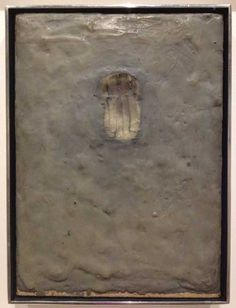 Jasper Johns, Painting Bitten by a Man, Encaustic on canvas mounted on type plate, 9 x 6 - Ellene Tapsell Jasper Johns Paintings, Pop Art, Willem De Kooning, Junk Art, Encaustic Art, Contemporary Paintings, Color Themes, Art Reference, Sculpture
