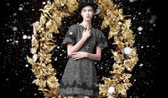 Sicilian Holiday – Italian fashion brand Dolce & Gabbana taps Marine Deleeuw and Ji Hye Park for a winter holiday shoot featured on its lifestyle site, Swide. The girls, who both also happened to walk Dolce & Gabbana's spring-summer 2014 show; look demure in lace, velvet, chiffon and tweed looks. No doubt these outfits would steal the spotlight at just about any holiday gathering!