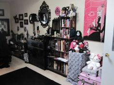 pastel goths room - Google Search