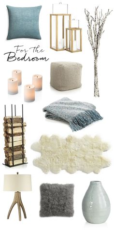 Bring Hygge Into Your Home with Crate and Barrel | Modern cozy boho Scandinavian inspired bedroom with natural accents