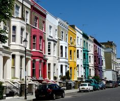 Notting Hill --this looks a lot like  San Francisco