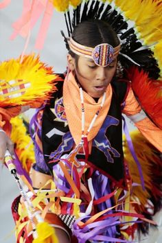 Talon Duncan, 12, with Yellow Bird Apache Dancers, a Native American dance troupe from Mesa, Ariz., performs at the 13th Annual American Indian Arts Celebration at Big Cypress Seminole Indian Reservation on Saturday, Nov. 6, 2010.