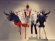 Moscow show window | Gabriela Salgueiro Acevedo // illustration and design