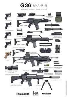 GUN Heckler and Koch HK Modular Rifle System Find our speedloader now… Military Weapons, Weapons Guns, Guns And Ammo, Heckler & Koch, Fire Powers, Cool Guns, Assault Rifle, Special Forces, Firearms