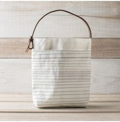 Striped Tool Bag - Bags - Accessories