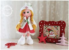 English version is supposed to be added soon.    Ravelry: New Year Doll pattern by Amigurumi Aşkına
