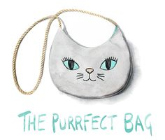 The inspiration for this month's tutorial comes from Celina's  ...purrfect... pinterest board and takes the form of a simple shaped  shoulder bag with embroidered kittycat details...