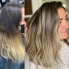REFRESH com @midesimone 🤩We used only the best @trussprofessional to create this look. Full year of regrowth, totally refreshed!What do you think of this beautifully blended blonde?!🥰 #modernsalon #balayage #balayagehair #behindthechair #hairbylima #eastbrunswick #nj #eastbrunswicksalon #balayagehighlights #allmodernhair #truss #beautylaunchpad #paintedhair #foryoupage #balayageombre #tiktok #jairassalon Balayage Highlights, Blonde Balayage, Balayage Before And After, Balayage Technique, Hair Painting, Hair Transformation, Hair Art, Painting Inspiration, Foto E Video