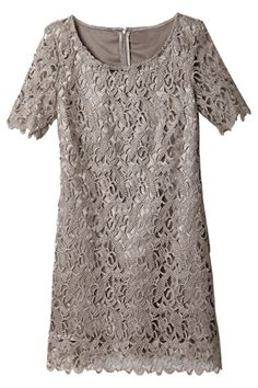 Hollow-out Lace Dress