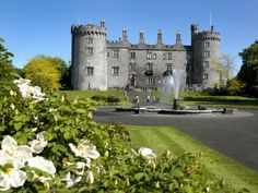 Kilkenny Castle in Ireland.  We visited here.  Such a beautiful place.