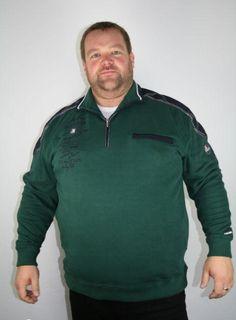 # Kitaro Sweat Troyer 136230-517 3-5XL grün