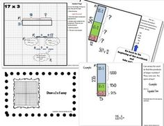 math worksheet : 1000 images about partial products multiplication on pinterest  : Partial Product Multiplication Worksheets