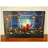 Painting with LED Light Canvas Wall Art christmas day landscape decoration painting  4050 christmas deals week