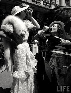 Fashionable drinking c.1934