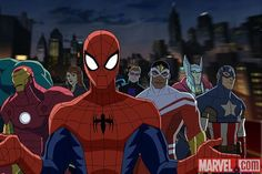 Here's Everything Coming To Netflix In November #refinery29  http://www.refinery29.com/2015/10/96120/netflix-november-2015-new-releases#slide-44  Ultimate Spider-Man: Season 3 (2014)  Just one of the 800 Spider-Man iterations now in existence. This time, it's Peter Parker as your average high school student whose extracurricular activities include joining S.H.I.E.L.D. and catching villains in his web of death. Available November 23...