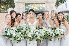 A wedding that floral dreams are made of at the Alfond Inn - Orlando Wedding Photographer Kristen Weaver Photography Lavender Bridesmaid Dresses, Wedding Dresses, Wedding Shoes, Floral Wedding, Wedding Flowers, Grey Gown, Orlando Wedding Photographer, Winter Park, Park Weddings