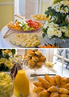 new Ideas bridal shower brunch buffet breakfast Birthday Brunch, Brunch Party, Brunch Wedding, Wedding Breakfast, Birthday Breakfast, Buffet Wedding, Cozy Wedding, Easter Brunch, Wedding Morning