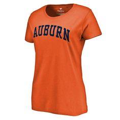 Auburn Tigers Fanatics Branded Women's Basic Arch T-Shirt - Orange