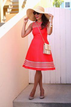 Dress: Taylor Dress , Hat: Dynamic Asia , Bag: Vintage, Earrings: H&M, Sunnies: Zero UV ,  Watch: Michael Kors, Bracelets:...
