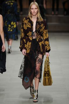 Burberry Prorsum Fall 2014 London