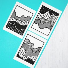 Beautiful topographical prints, hand-pressed from a carved printing block, and inspired by those intriguing little lines on the map. I love topographical maps. The way the curving contour lines get closer as they climb higher speaks to me of peaks to be explored. I played with the idea