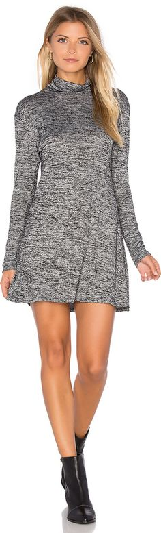 Grey Long Sleeve Dress : C & C California