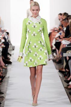 SS '14 - Oscar de la Renta / NYFW New York Fashion Week / MBFW Mercedes Benz Fashion Week