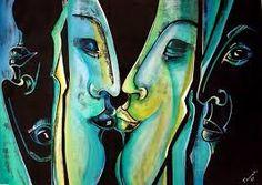 Bildergebnis für abstrakte malerei menschen