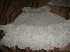 Free Crochet Christening Gown | More information about Baby Christening Crochet Dress Free on the site ...