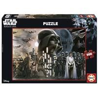 Puzzle Darth Vader Rogue One Star Wars Disney € Puzzle 500 piezas. Rogue One Star Wars, Darth Vader Rogue One, Puzzle Shop, Star Wars Shop, Madrid Barcelona, Star Wars Toys, Pop Figures, Disney Star Wars, Zaragoza
