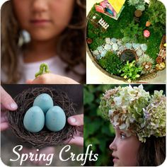 Lots of seasonal crafts from The Magic Onions. A fantastic website.