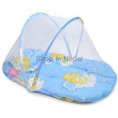 Happy Baby Foldable Mobile Baby Bed With Net | Online shop,shopping Kathmandu Nepal,Hamrobazar