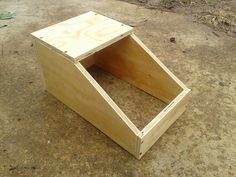 How To Build Rabbit Nest Boxes