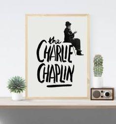 poster chaplin 5 - 30x40 cm