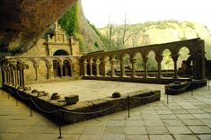 Fotos de: Huesca - Románico - Monasterio de  San Juan de la Peña
