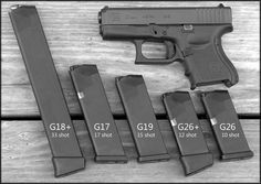 Glock 26 magazine options- this is just another reason why I love Glock , interchangeable mags - unless of course you a have a larger pistol then the smaller magazines will not work Find our speedloader now! www.raeind.com or http://www.amazon.com/shops/raeind