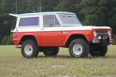 Classic ford bronco custom modifications by stroppe, very rare and in perfect shape